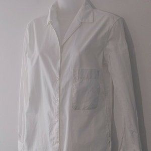 Uniqlo & Lemaire Women Shirt XS White Button Up